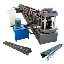 Supermercado Estantes que hace la máquina / Automático Estantes de almacenamiento de metal frío Máquina formadora de rollos para estantes de almacenamiento