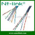 24awg cat6 utp cabo de cobre desencapado sólido do lan