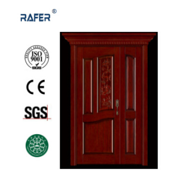One and Half/Mother Son Solid Wooden Door (RA-N049)