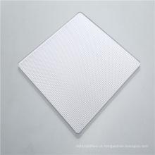 Folha sólida de policarbonato de prisma de difusão de alta luz