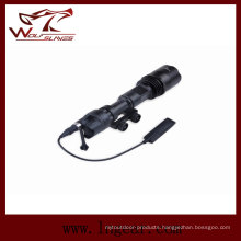 Tactical Flashlight Military Torch with Mount Ex-109-Bk