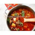 Condimento de sabor a tomate para la olla caliente haidilao