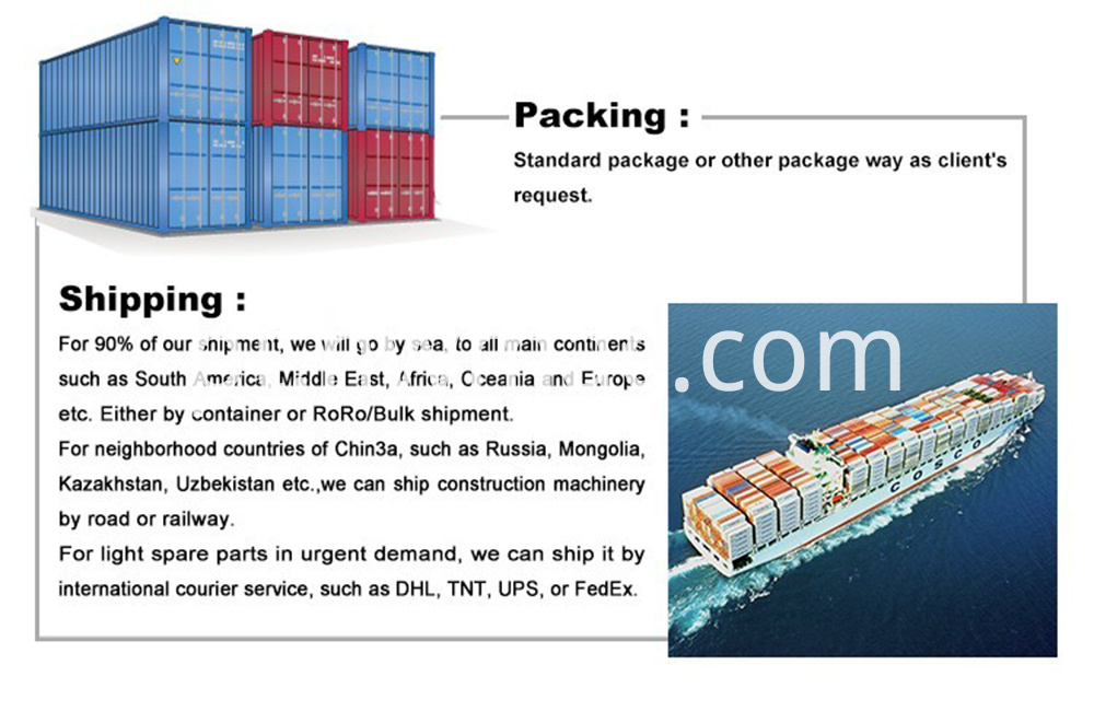 shipping and packing