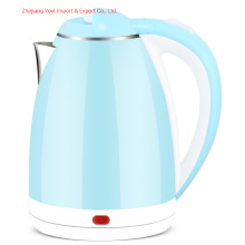 2.0L High Quality Factory Plastic Inner Stainless Electric Kettle