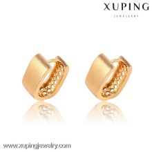 90856-Xuping new trendy gold plated little clip-on earrings