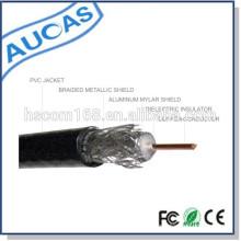 Fabrication en Chine RG58 / RG59 / RG5 / RG11cable prix coaxial 75ohm appliqué à CCTV / CATV avec standard CE ROHS