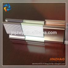 6062 6061 profil d'aluminium pour la serre t5 t6