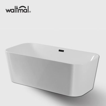Chamfer Rectangle Acrylic FreeStanding Bathtub