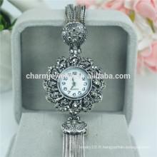 Spécialement conçu élégant luxe alliage de quartz montres numériques pour femmes B030