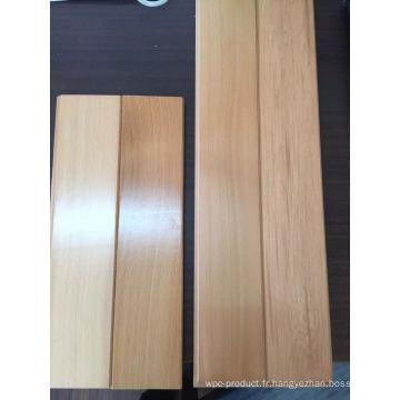 Lambris de bois d'intérieur en cèdre rouge