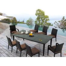 Muebles al aire libre - silla y tabla que cenan (BP-306)