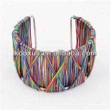 Art und Weisearmbandarmband vners Armbandarmbänder gesponnenes Armband