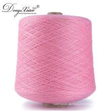 La acción de venta teñió la porción común que hacía punto a mano del hilado de la materia textil de la cachemira 100% con precio competitivo