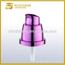 Pompe à lotion en plastique / pompe à lotions crème 20 mm / distributeur de pompe à lotion en UV