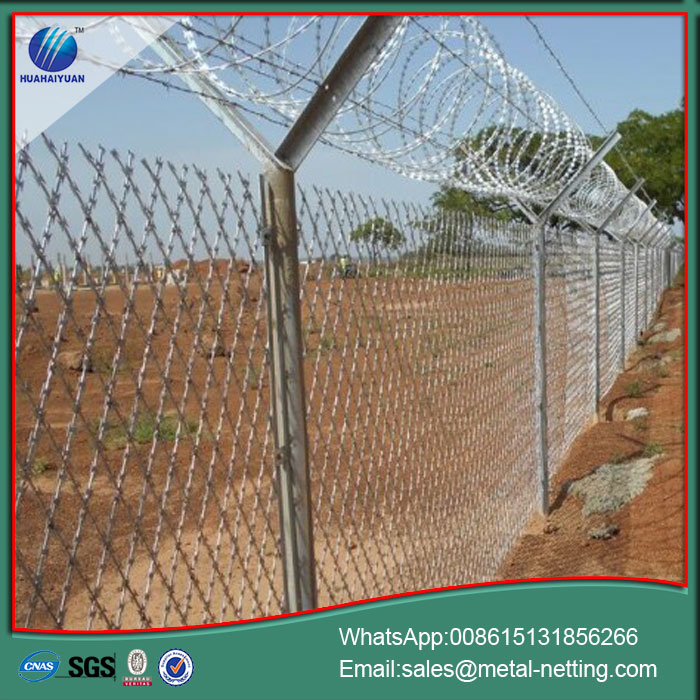 Airport Anti-climb Fencing