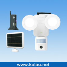 Luz solar LED PIR Sensor com sistema DVR