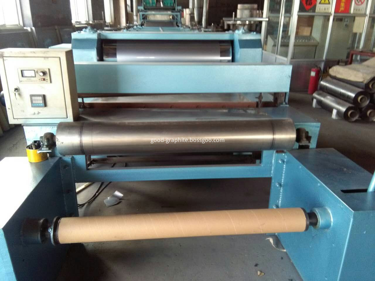 Graphite Sheet Coiling machine