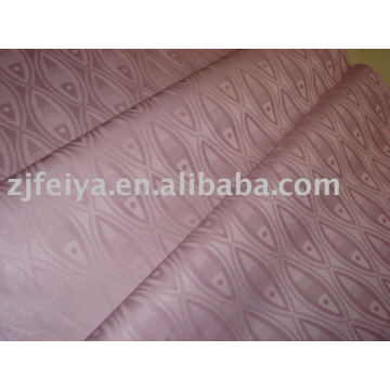 100% Algodón Damasco Africano Occidental Shadda Bazin Riche Guinea Tela Brocade Jacquard Nueva Llegada Fábrica de Textiles Stock Al Por Mayor