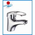Misturador de lavatório de lavatório único torneira de água de bronze (ZR21702)