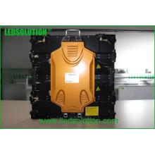 Pantalla LED de alquiler fundido a presión ligera al aire libre P5 640X640m m