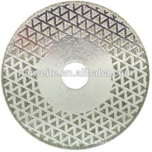 Lâmina de corte de lâmina de diamante galvanizado para mármore