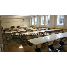 High School Canteen Furniture Solid Surface Table Set (FOH-RFST1)