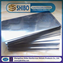 Molybdenum Plate, 99.95% High Purity Molybdenum Sheet, Molybdenum Plate