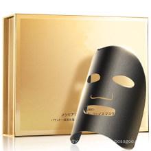 OEM Black Carbon Facial Treatment Mask Anti-Aging Anti-Wrinkles Peptide Collagen Sheet Masks