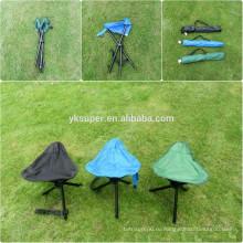 Дешевые три ноги складной стул в Китае / Малый складной стул для рыбалки