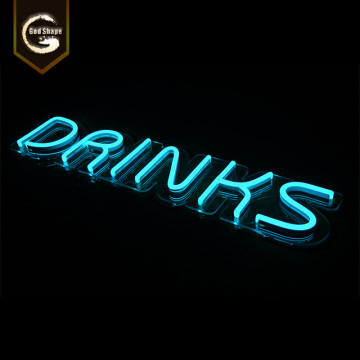 Factory Wholesale Advertising Led Neon Sign