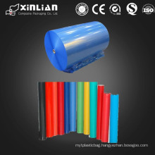 PE/OPP Plastic film with different colors