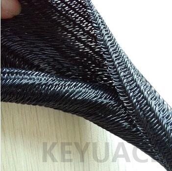 UV Resistant Self Closing Braided Cable Sleeving