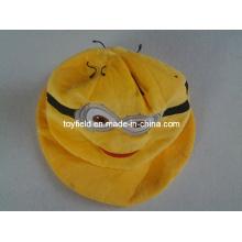 Hut Cap Gelb Plüsch Hut
