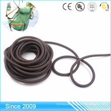Outdoor 9core Usage Strong Reflective Tent polyester Climbing Rope with pvc and tpe coated