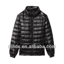 Nouvelle mode Shiny light down jacket blousons en nylon brillant