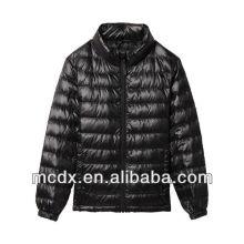 New fashion Shiny light down jacket shiny nylon down jackets