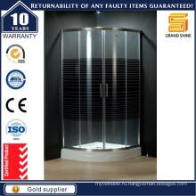2016 Высокое качество Большие угловые стеклянные корпуса для душа