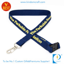 Hot Sale Flat Polyester Screen Printed Lanyard