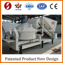 Calculadora de hormigón Mezcladora de cemento móvil mini planta de mezcla de hormigón