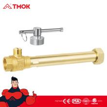 Mode-Design Wasserzähler mit Schloss cw617n Messing Material Messing Farbe und CE-Zulassung in TMOK