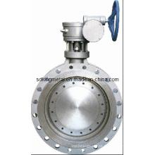 D371X-10080, 10450 Válvula Borboleta Wormgear