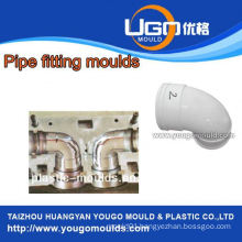 Plastic mold supplier for standard size pvc y pipe fitting mould in taizhou China