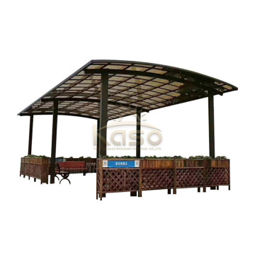 Pergola Metal Composit Car Kit Prefabricado Garaje Cochera