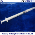 Disposable Syringe with Needle (1ml)