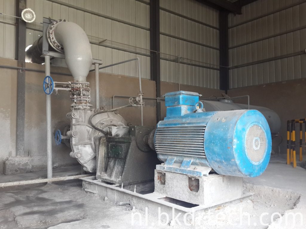 lime slurry pump
