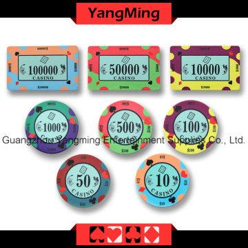 Chip de cerâmica de póquer (YMCP007-008)