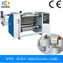 Máquina de rebobinamento de papel térmico automático completo, máquina de fazer papel térmico (DK-FQ)