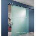 Interior triple glass sliding Barn Doors With Hardware