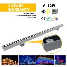 Lâmpada lavadora de parede LED 12W para exterior