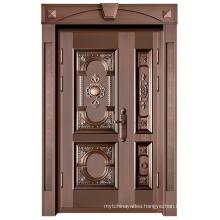 Fashion Popular Solid Rolling Glass Door Fire Door Security Door Copper Door